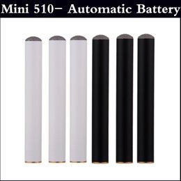 Wholesale Ego Automatic Cigarette - Mini 510- Automatic Battery 180mAh no power button EGO Mini 510 Atomizer Electronic Cigarette without button full in stock factory price