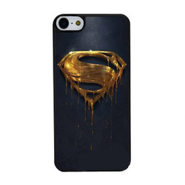 Wholesale S3 Superman - Gold Superman Logo cell phone case for iPhone 4s 5s 5c 6 6s Plus ipod touch 4 5 6 Samsung Galaxy s2 s3 s4 s5 mini s6 edge plus Note 2 3 4 5