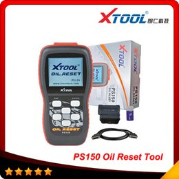 Wholesale Original Odometer Correction - 2014 High quality Original XTOOL PS150 Auto Diagnostic Tool PS150 Oil reset Oil Odometer Correction tool Original DHL free shipping