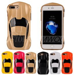 Wholesale Apple Shaped - Transformers King Kong Car Armor Case Hard PC Shaped Cases Back Cover With Holder For iPhone 8 7 6 6s Plus 5 5s
