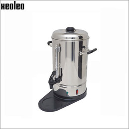 Wholesale Boiler Electric - Xeoleo Electric coffee maker 6 10 15L Coffee Boiler machine 1.2KW 220V Coffee machine water boiler