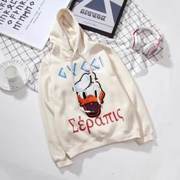 Wholesale Printed Hoodie Tiger - 2017 Italy Luxury Brand medusa tiger print hoodies hooded floarl Sweater Men's Casual windbreaker jackets Tiger printing men clothing