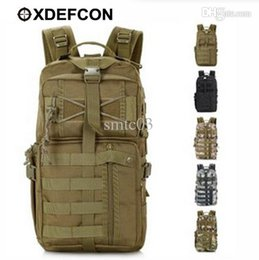Wholesale Swat Tactical Molle Assault Backpack - Wholesale-Outdoor Military Tactical Assault Backpack Molle System 3 day Survival Bag SWAT Police Carry rucksack tactical backpack 30L