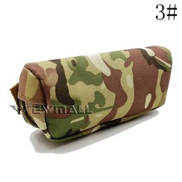 Wholesale Hunting Sunglasses - Portable Outdoor Sunglasses Case Box Tactical Eyewear Carry Case Sports Military MOLLE Glasses Shockproof Protective Case Box