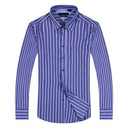Wholesale Casual Shirt Collar Styles - 2017 new style 100% Cotton Quality Solid Shirt Men Casual big shirt Shirts striped Oxford Dress Shirt Camisa Masculina