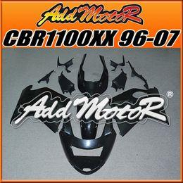 Wholesale Honda Blackbird - In Stock Addmotor Unpainted Fairings Injection Mold Unpolished Fairings For Honda CBR 11000XX CBR1100XX Blackbird 96-07 1996-2007 H1100