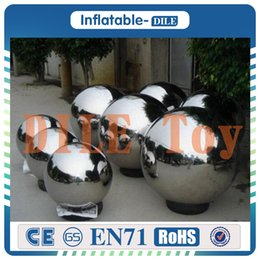 Wholesale pvc advertising - 1.5m Diameter PVC Inflatable Mirror Ball  Decorative Ball Used For Storefront Or Square Advertising Campaign Or Decoration