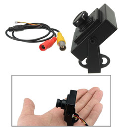 Wholesale Mini Camera Board Lens - High quality HD 700TVL 1 3 for SONY CMOS MTV FPV Camera for DC Aerial Photography Black Board Wide Angle Lens Mini CCTV Security order<$18no