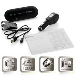 2019 mp3-плеер 1g Диктор набора автомобиля Bluetooth 2014 новый беспроволочный Handsfree для телефона с розничным пакетом ,заряжателем автомобиля 1*, кабелем 1*USB, руководством потребителя 1*и зажимами 1*