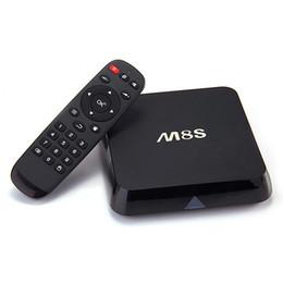 Wholesale program tv - Original M8S M8 Amlogic S812 Quad Core Online Update 4K Smart Android TV Box 2GB 8GB Stream Video Sports Program Channels