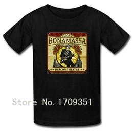 Wholesale Red Theatre - T-shirts Beacon Theatre - Live From New York Joe Bonamassa Print Men Casual Cotton Short T Shirt Free Shipping