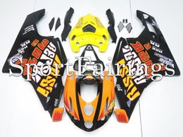Wholesale Rossi Fairings - Injection Fairings For Ducati Monoposto 999 749 03 04 Year 2003 2004 ABS Plastic Motorcycle Full Fairing Kit Bodywork Cowling Rossi 46