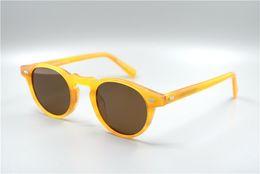 Wholesale Purple People - New sunglasses OLIVER PEOPLES OV5186 gafas de sol sunglass ways ellipse box sunglasses men and women sun glasses color film oculos brand