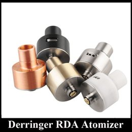Wholesale Advanced System - Derringer RDA Atomizer for Advanced RDA Vapers New DIY Coil System Rebuidable Dripping Vaporizer fit All Mechanical Mods