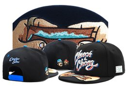 Wholesale Snap Back Street - black Adjustable Cayler & Sons cheech & chong Street Hats Snapback Baseball Sport Caps Ball Hats For Men and Women Snap back caps TY