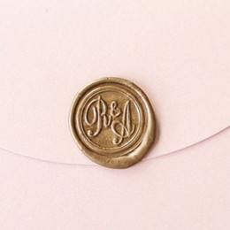 Wholesale Custom Logo Wax Seal - personalized custom Wax Seal Stamp wedding logo initials birthday gift stamp