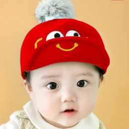 Wholesale Cheap Baby Hats For Girls - Baby Hat 3-6 Months Boys Girls Hats Kids Winter Hats Bonnet Enfant Hat For Children Baby Muts Bonnet 2017 Cheap Baby Christmas Gift