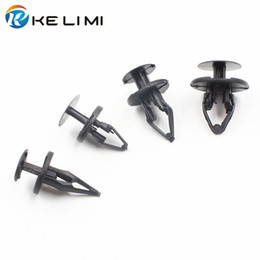 Wholesale Ford Fender - Auto Fender Wheel & Bumper Fascia Push-Type Fastener Retaining Clip For Ford GM Chevrolet Jeep GMC Cadillac Buick Retainer Rivets