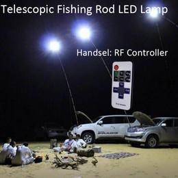 led light fishing rods Australia - 12V Telescopic LED Fishing Rod Outdoor Lantern Camping Lamp Lights White with IR Remote
