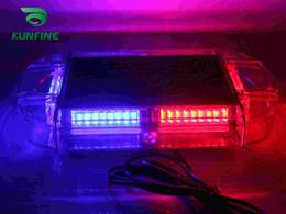 polizeiwagen strobe lichtleiste Rabatt 2015 neue Heiße LED 24 Watt Auto Notfall Feuer Warnung Polizei Leuchtfeuer Tow LED Blitzlicht bar Wasserdicht + 18 Garantie KF-L3138