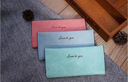 Wholesale Cheap Korean Purses - PU Leather Women Wallet Candy colors Zipper Multifunction Long Wallets Ladies Clutch Handbag Cheap Coin Purse Card Holder