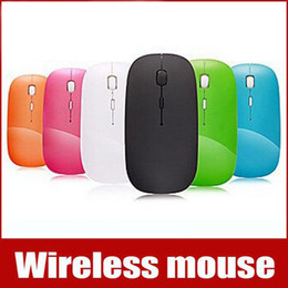 Wholesale Mouse Apple Computer - USB Ultra Thin 2.4G MINI Wireless Mouse Touch Keyboards Mice Receiver Magic Multi-touch For Apple and All Computers Free Shipping