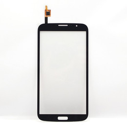 Mega touch онлайн-Black Front Glass Lens Touch Screen Digitizer replacement part for  Galaxy Mega 6.3 i9200 Wholesale free shipping+Tracking No.