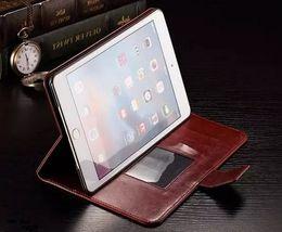 Los mejores casos de ipad online-Funda de oficina para Apple Ipad Mini 4 Funda de la cartera Cubierta de la cartera fresca Funda de cuero con tapa colorida para Apple Ipad Mini 4