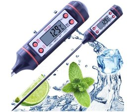 Wholesale Read Meat - 500Pcs Digital BBQ Thermometer Cooking Food Probe Meat Thermometer Kitchen Instant Digital Temperature Read Food Probe