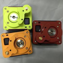 Medidor de ohmios para vape online-Piloto Vape Super Ecig Tester Pantalla OLED Fit 18650 Ohmios de la batería Medidor Amarillo Verde Rojo 3 colores libre de DHL FJ655