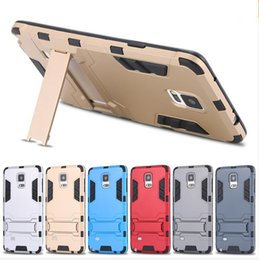 Wholesale Iron Man Iphone Casing Wholesale - Iron Man Hybrid 2 in1 Slim Tough Armor Silicone Shockproof Back Cover Case With Stander For Iphone 5 6 6s plus 7 7plus samsung S6 S7 Edge