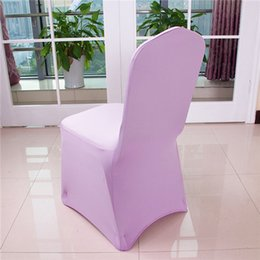 Wholesale Spandex Yellow Chair Covers - Wedding Chair Covers Fashion Wedding Elastic and Colorfast Dining Chair Covers Hot Wedding Easy Clean and Polyester Waterproof Safe Banquet