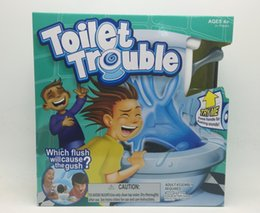 Wholesale Tricky Toilet Toy - kids toy Toilet trouble game Washroom Tricky Toys Funny Game Fun Play Children Party Games high copy
