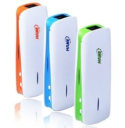 Wholesale Wireless Hotspot - New 5 in 1 Mini USB 150Mbps 3G WIFI router Wireless wifi repeater Router Hotspot +1800mAh Power bank for iPhone Mobile tablets