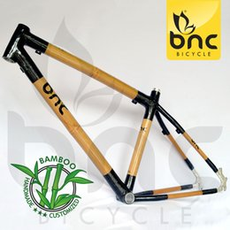 Wholesale Ems Carbon Fiber Bike - 2016 Sale Special Offer Bicicleta Ems free Shipping Carbon Fiber Bamboo Mountain Bike Frame Mountain Bicycle Frame cycling Frame