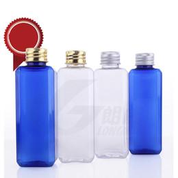 Flacon de couverture en aluminium de 100 ml, de haute qualité, vide, en plastique PET. ? partir de fabricateur