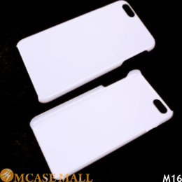 Wholesale Decorate Iphone - Black White Plain PC Hard Blank Case Cover for iPhone X 7 8  7 8 Plus 6 6S Plus 5 5S Galaxy S6 For Printing Decorating