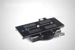 Wholesale Dslr Rig Plate - Wholesale-FREE Shipping LanParte Tripod Quick Release Plate V2 QRP-02 for VCT-14 Plate 15mm Rod Rig DSLR Video Camera 5D 5D2 7D D700