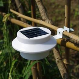 Wholesale Roof Led Lights - Solar Lights For Garden Solar Lamps LED Wall Lighting Outdoor Automatic Lighting Solar roof lamp IP55 3 LED CCA8321 50pcs