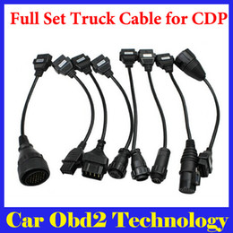Wholesale Inspection Camera For Ship - [5PCS Lot] Full Set Truck Cable For TCS CDP PRO PLUS 8 Cables For Trucks Tcs Cdp Pro Plus Scanner Truck Cables by DHL Shipping