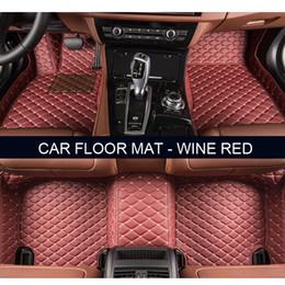 Wholesale Car Bmw X6 - Car floor mats for BMW F10 11 15 16 20 25 30 34 E60 E70 E90 1 3 4 5 7 Series GT X1 X3 X4 X5 X6 Z4 car accessories styling Custom foot mats