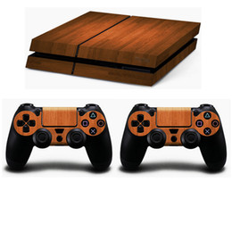 Wholesale Playstation Systems - VVSKIN New Style PS4 Sticker Vinly Skin + 2 controller skins PS4 Decal Stickers for PS4 System Playstation 4 Console