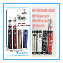 Wholesale Ego Kits Two Battery - NEWEST packaging Electronic Cigarettes Ego now Arctic start kit vaporizer SUB ONE SUB TWO ecig battery 2000mAh 40W vape pens Atlantis