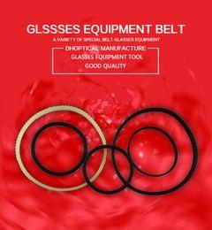 Wholesale Clean Eyeglass Lens - Rubber Belt For Hand Lens Edger Lens Edging Machine Ophthalmic Instrument Lens Groover Grooving accessoreis 5pcs lot for glasses shop