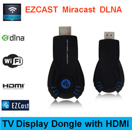 Wholesale Tv Pc Usb Stick - 2015 Latest Smart Cast VSMART V5ii Ezcast DLNA Miracast Airpaly Mirrorop for iPhone Android Phone Laptop PC OTA Smart TV Dongle