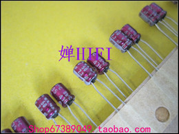 Wholesale Violet Hole - 50pcs Imported ELNA original purple violet electrolytic capacitor 50v2.2uf 4x5 free shipping