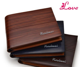 Wholesale Wallet Mens Nylon - LUCIA New Arrival PU Leather Wallets For Mens Designer Bifold Money Purse High quality Cluch Cente Party Traver Wallet