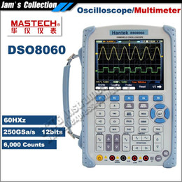 Wholesale Hantek Handheld Oscilloscope - Hantek DSO8060 Handheld Oscilloscope Multimeter 60MHz 1GSa s 1M Memory Depth