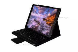 Wholesale Wholesales Wireless Accessories Stand - Bluetooth Wireless Keyboard Case Cover Tablet PC Stand Holster Cover for IPAD PRO 9.7 12.9inch
