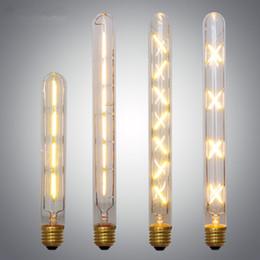 lampadine 3x3w e14 Sconti All'ingrosso-Vintage Lampadine Edison E27 LED Lampadine a filamento Bombillas bianco caldo 4W 6W 8W 220 V 110 V AC 360 gradi Led Lampadine a casa Illuminazione domestica
